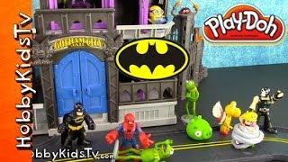 PLAY-DOH Batman In Gotham Story PART 2 HobbyKidsTV