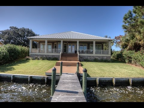 Waterfront Home on Grand Lagoon - Panama City Beach, Florida Real Estate For Sale