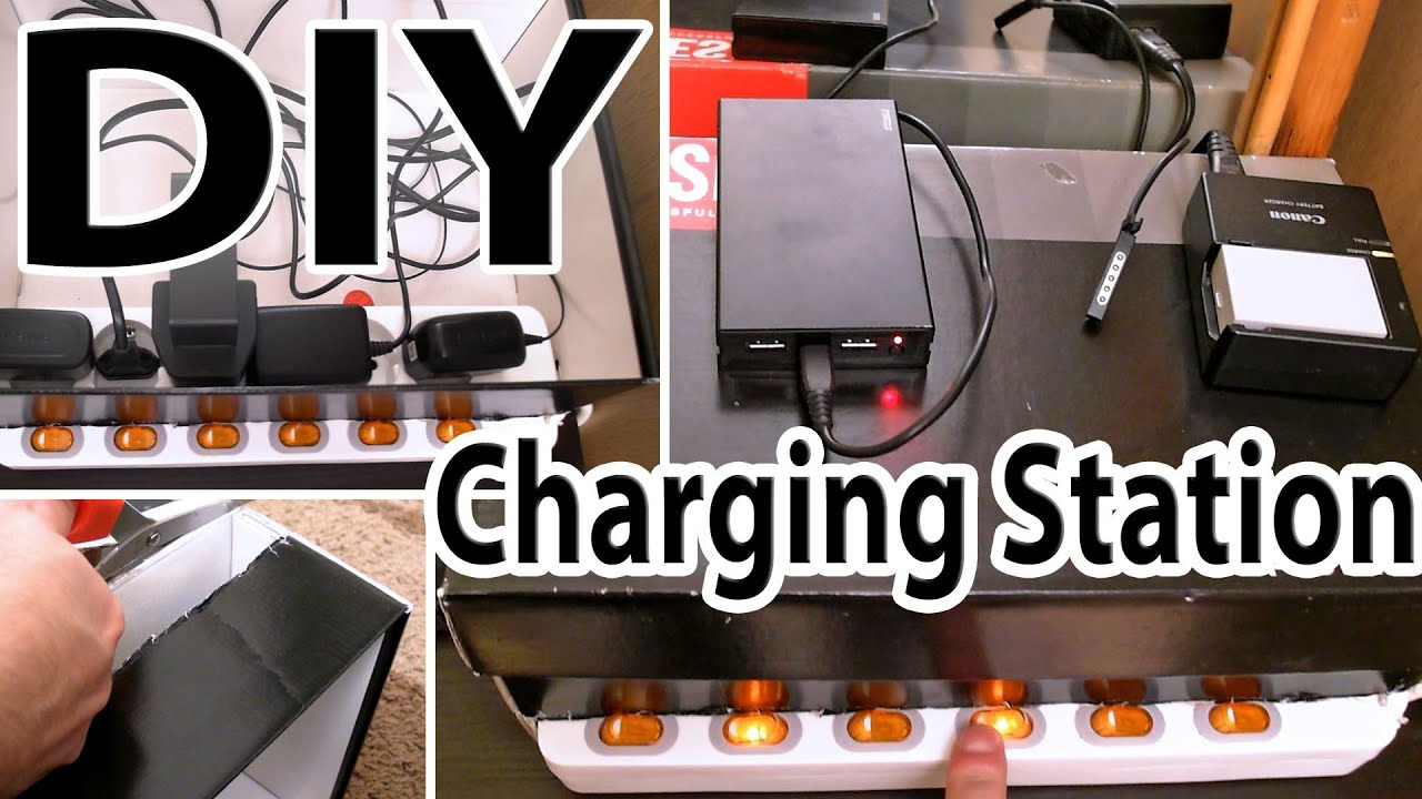 Diy Multi Device Charging Station With On Off Switches