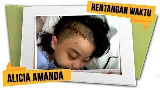 Alicia Amanda - Rentangan Waktu (Official Lyrics Video)