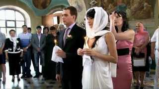Свадьба дочери Норика Луганск, Венчание
