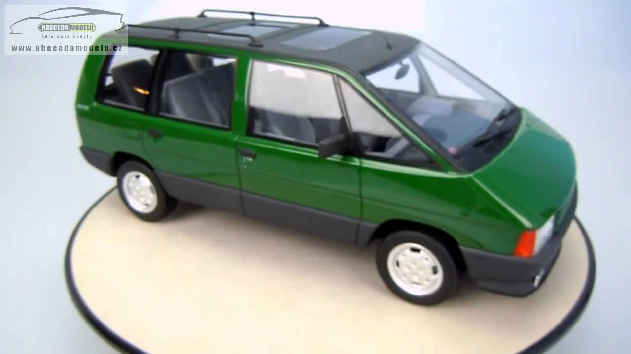 renault espace 2000 tse 1984 ottomobile 1 18 resin youtube. Black Bedroom Furniture Sets. Home Design Ideas