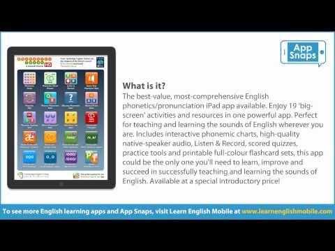 App Snaps: Phonetics Focus HD for iPad