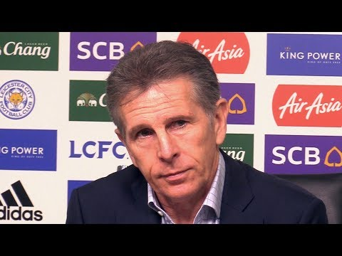 Claude Puel Full Pre-Match Press Conference - Fulham v Leicester - Premier League