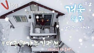 [Winter-Vlog] : 한국의 겨울 왕국, 대관령…