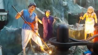 BAHUBALI AT BHUBANESWAR OLD STATION DURGA PUJA 2016