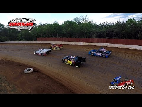 We got some video before the rain at Lake Cumberland Speedway 5-6-18