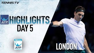 Highlights: Federer Stays Perfect With Win Over Cilic Nitto ATP Finals 2017 Round Robin