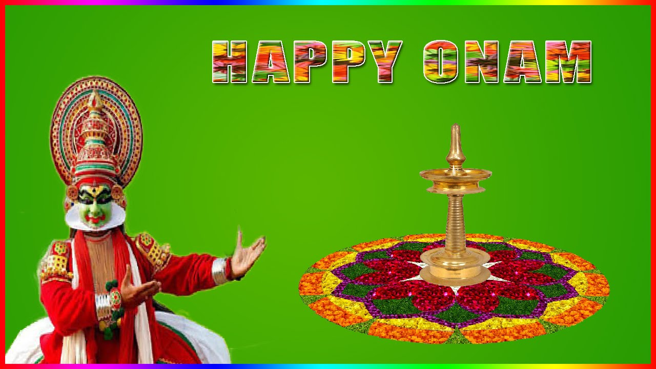 How To Create Onam Greeting Card In Photoshop In Malayalam Youtube