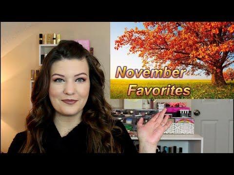 November Beauty Favorites 2017 |...