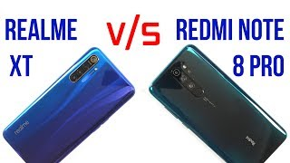 Redmi Note 8 Pro vs Realme XT   Full Comparison   Gaming   Battery   Camera   Which One To Buy?