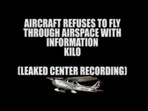 Complete idiot pilot refuses to fly with information KILO