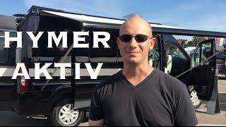 Hymer Aktiv ProMaster Van RV Conversion Walk-Through