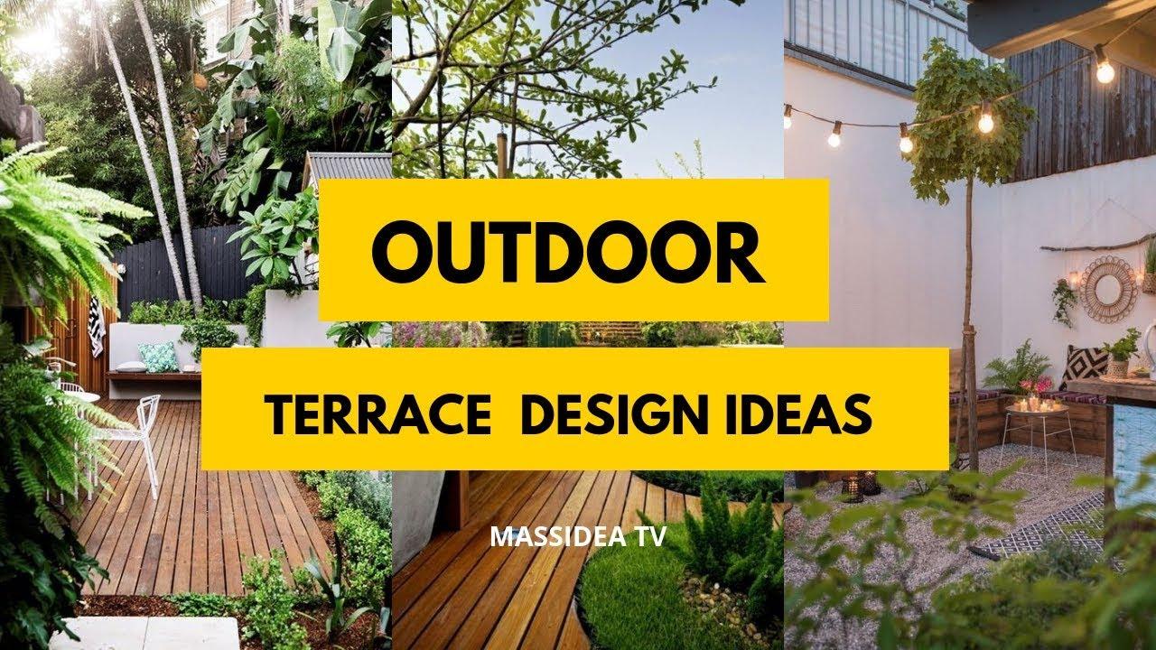 50 Unique Outdoor Terrace Design Ideas To Inspire You Youtube