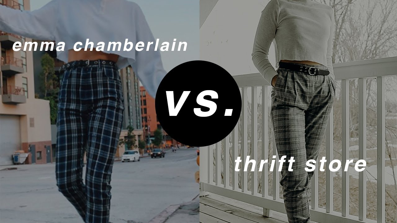 [VIDEO] - thrifting youtubers' outfits (emma chamberlain, marla catherine, summer mckeen) 4