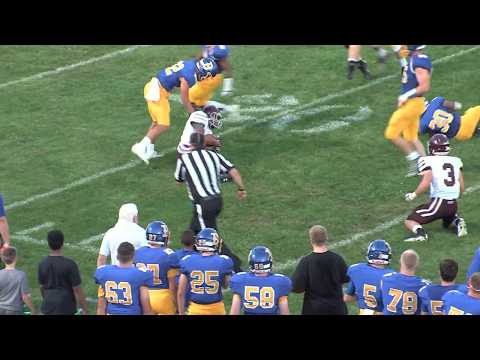 2017 Blacksburg High School Football: Salem vs Blacksburg