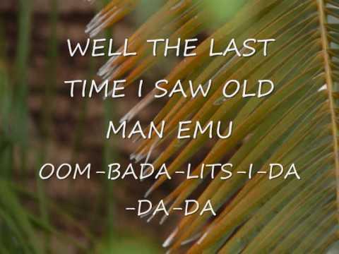 Old Man Emu Lyrics
