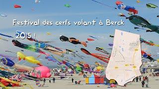 [SJ4000] Festival des Cerfs Volants à Berck sur Mer 2015 ! (Nord Pas de Calais)