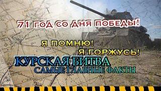 Курская Битва или сражение на Курской Дуге. Краткая информация