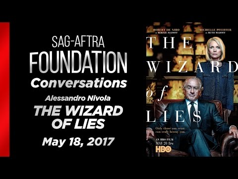 Conversations with Alessandro Nivola of WIZARD OF LIES