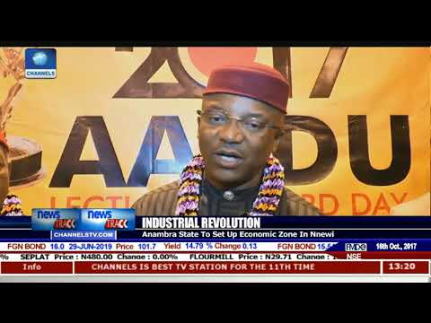 Industrial Revolution: Anambra State To Set Up Economic Zone In Nnewi