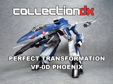 1/60 scale Perfect Transformation VF-0D Phoenix Shin Version from Macross Zero - CollectionDX