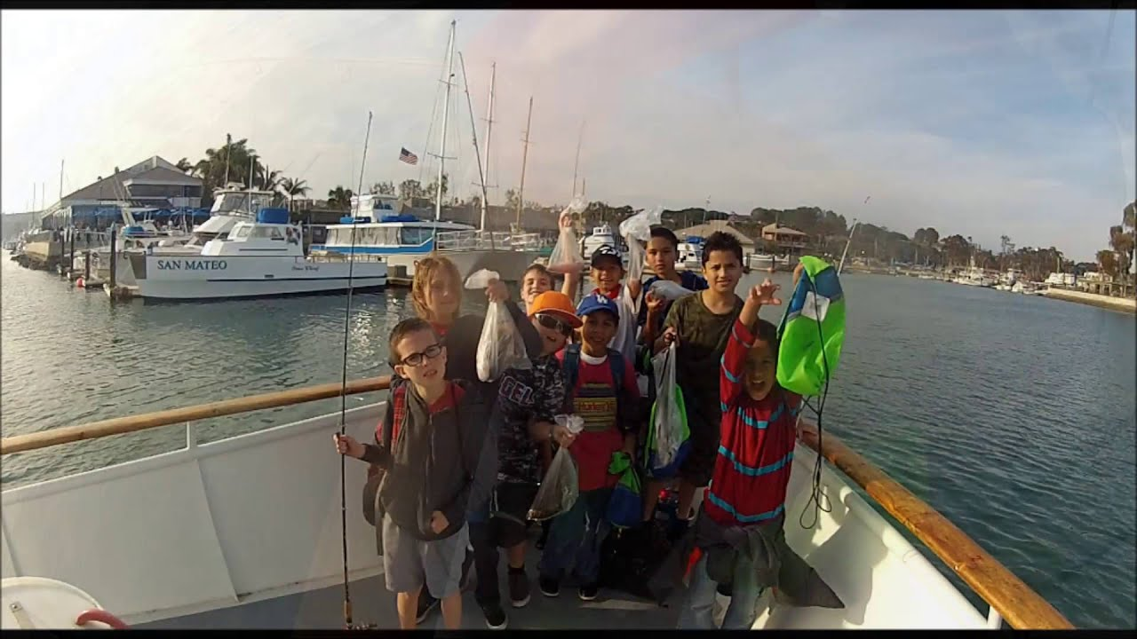 Kaine navarro fishing with friends on the sum fun at dana for Fishing dana point