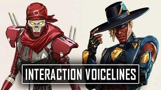 *ALL* SEER Interaction Voicelines - Apex Legends Season 10