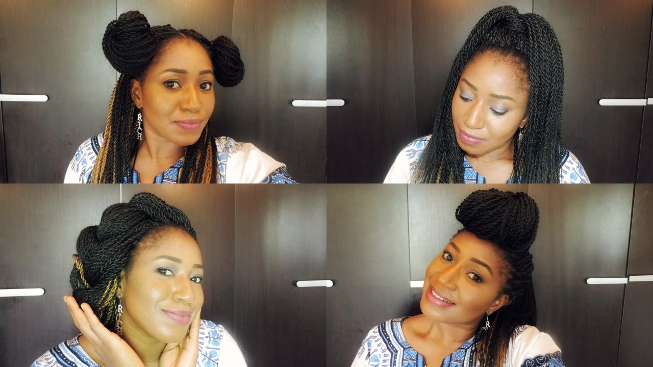 Style My Senegalese Twist Crochet Braid
