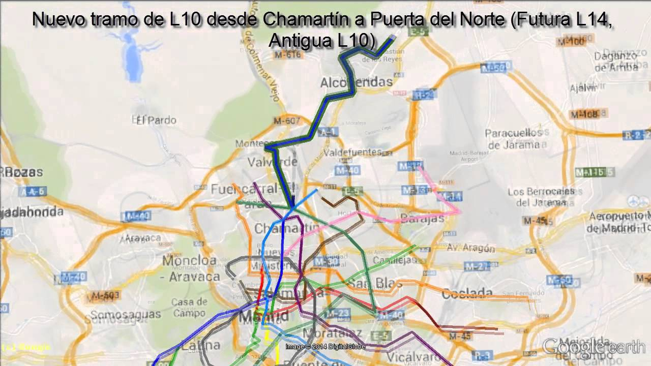 El mejor Metro del mundo Ampliaciones 2016  Madrids Subway