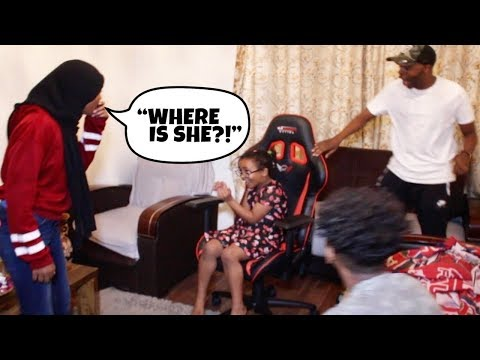 I Told My Little Sister She Was Invisible & She Believed It.. *PRANK!*