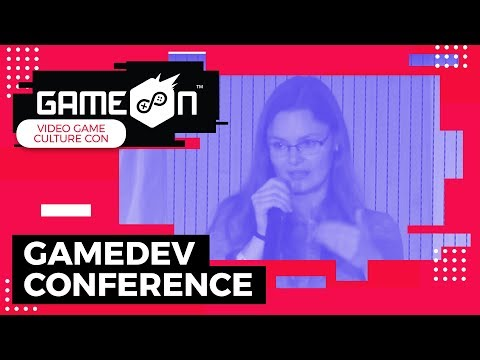 """GameOn 2018 GameDev Conference - Philomena Schwab """"How to build a community for your first game"""""""