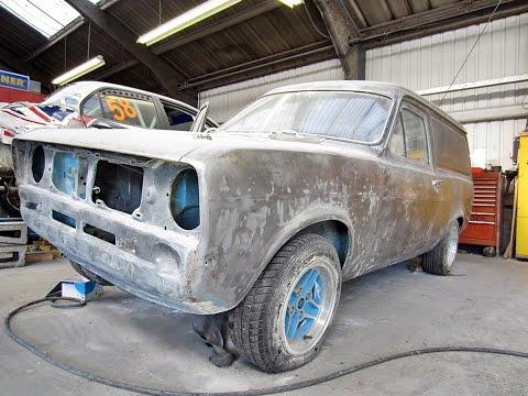 94c0205077 Award Winning - Mk2 Escort Van Restoration   Protek Bathgate - YouTube