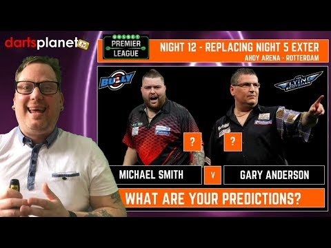 NIGHT 12 UNIBET PREMIER LEAGUE PREDICTIONS & PREVIEW FROM ROTTERDAM