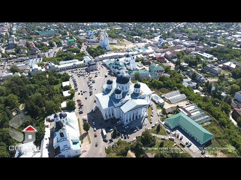 Аэросъемка города Арзамас/Aerial View Of The City Of Arzamas