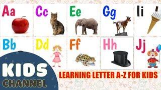 Lernen, Buchstaben A-Z für Kids | Spiel Cartoon-für das Lernen der Kinder Kanal