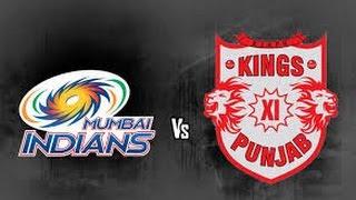 ipl 2017 mumbai indians vs kings xi punjab full match highlights