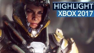 Anthem-Ankündigung - Das Highlight der Xbox One-Show kam von Bioware (E3 2017)