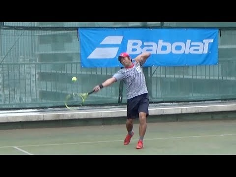 テニスラケット NEW PURE AERO試打レポート