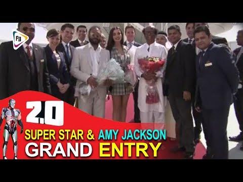 Rajinikanth Grand Entry To 2.0 Press Meet || 2.0 Audio Launch Live || 2.0