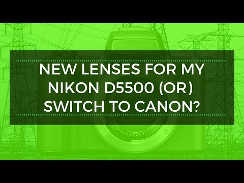 What Lenses 4 My Nikon D5500 for Travel & Architecture?