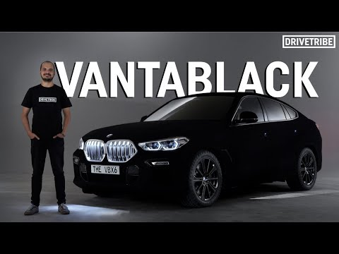 English Evan - BMW Unveils World's Blackest Black!