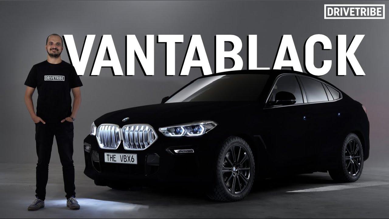 This Vantablack Bmw Is The Darkest Car In The World Youtube