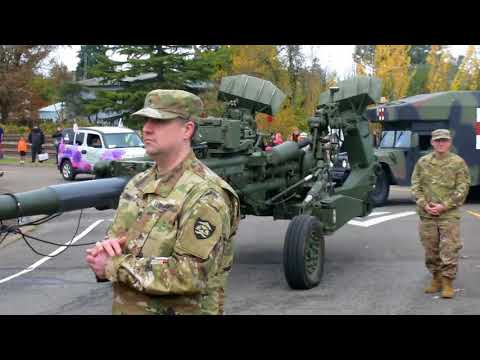 Veterans Day Parade - 11 November 2017 - Albany, Oregon