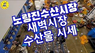 서울노량진 수산시장 새벽시장 수산물시세 견문록 모조리 …