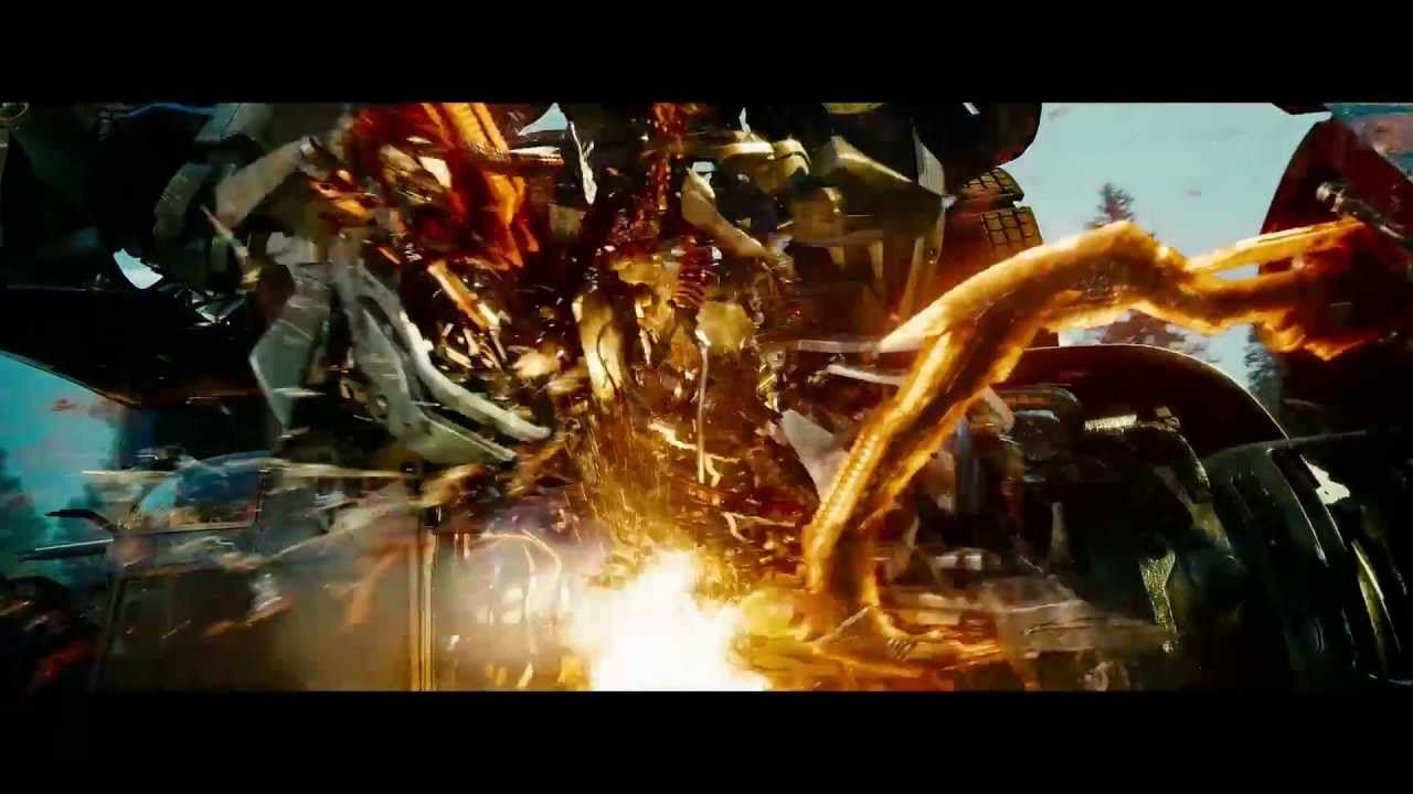 Transformers Fight Scene Sped Up (Revenge of the Fallen ...