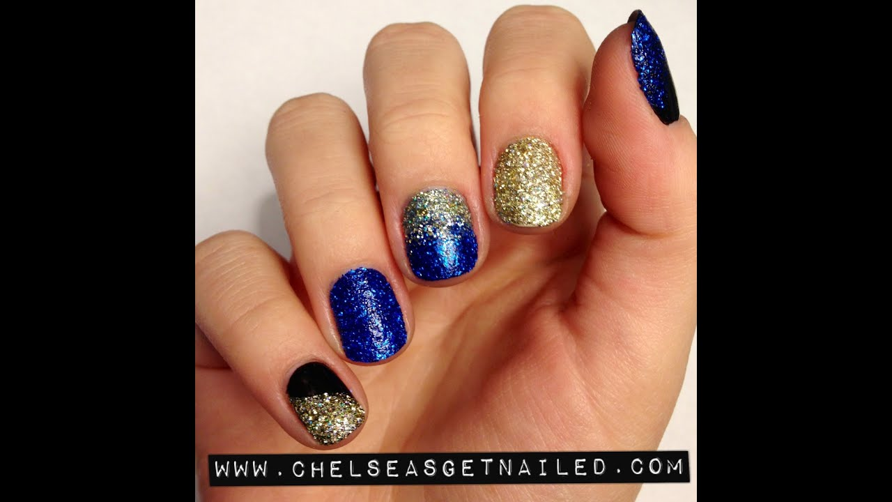 Loose Glitter Nails - YouTube