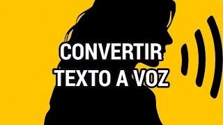 Convertir texto a voz www.informaticovitoria.com