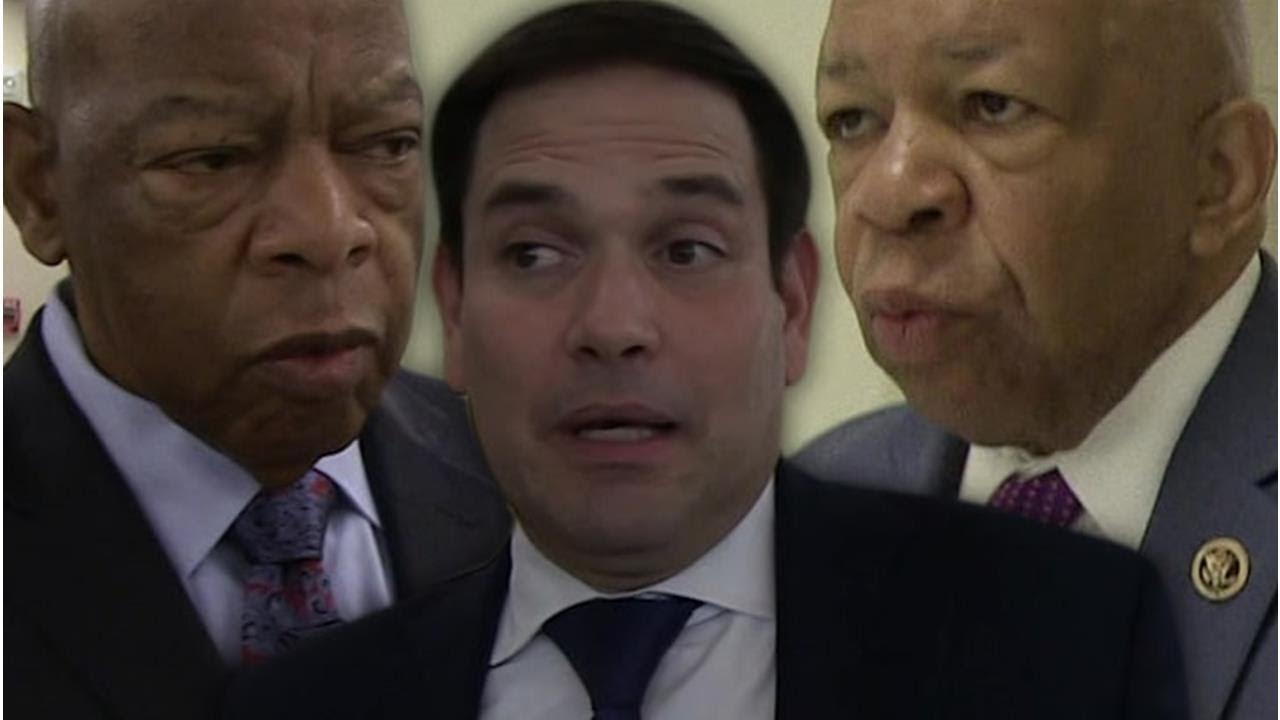 Marco Rubio mistakes Elijah Cummings for John Lewis in ...