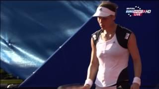 Andrea Petkovic & Annika Beck WTA HD 13.06.13 Sweaty